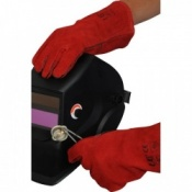 Red Standard Welder Gloves