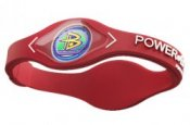 Power Balance Sports Bracelet Hologram Wristband Red and White