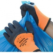 Polyco Reflex Hydro Cold Resistant High Visibility Thermal Safety Glove (120 Pairs)