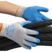 Polyco Reflex SQ Seamless Knitted Polycotton Safety Gloves (120 Pairs)