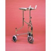 Three Wheeled Rollator with Armrest