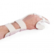Rolyan Pre-Formed Functional Position Splint with Slot and Loop Strapping