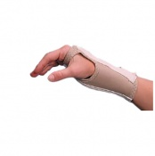 Rolyan D-Ring Wrist Brace with Enlarged Thumb Hole
