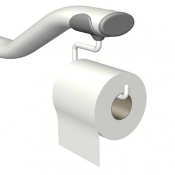 Toilet Roll Holder For Ropox Hinged Arm Support