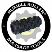 Rumble Roller Extra Firm Black - Compact Size