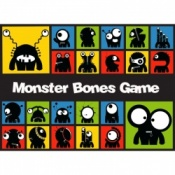 Monster Bones Phonics Board Game