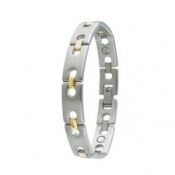 Sabona Executive Regency Duet Magnetic Bracelet