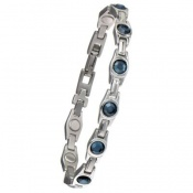 Sabona Lady Blue Gem Magnetic Bracelet