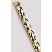 Sabona Lady Executive Dress Gold Duet Magnetic Bracelet