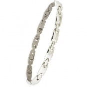 Sabona Lady Executive Silver Sport Magnetic Bracelet