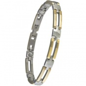 Sabona Lady Executive Slim Bar Duet Magnetic Bracelet