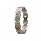 Sabona Men's Executive Gem Duet Magnetic Bracelet