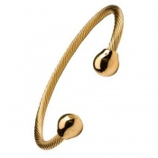 Sabona Professional Twist Gold Magnetic Bracelet