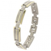 Sabona Titanium Dress Duet Magnetic Bracelet