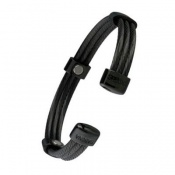 Sabona Trio Cable Black Magnetic Bracelet