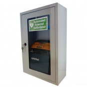 Safety First Aid AED Defibrillator Wall Cabinet
