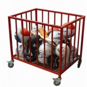 School Sports Equipment Ball Cage Trolley