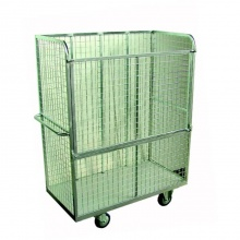 School Sports Equipment Large Upright Storage Cage Trolley
