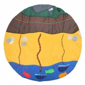 Large Sensory Play Seaside Story Mat