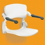 Linido Shower Seats with Backrests and Armrests