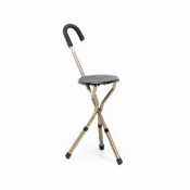Height-Adjustable Stick Seat