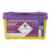 Sharpsguard Cyto 1L Sharps Container (Case of 30)