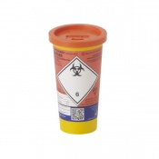 Sharpsguard Orange 0.6L Mini Sharps Container (Case of 24)