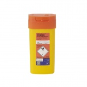 Sharpsguard Orange 0.6L Sharps Container for Scotland (Case of 48)