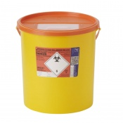 Sharpsguard Orange 22L RA High-Volume Sharps Containers (Case of 5)