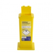 Sharpsguard Yellow 0.5L Sharps Container with Needle Remover (Case of 60)