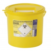 Sharpsguard Yellow 11.5L General-Purpose Sharps Container (Case of 20)