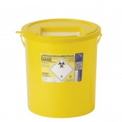 Sharpsguard Yellow 22L High-Volume Sharps Container (Case of 10)