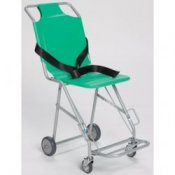 Sidhil Transit Chair with Four Wheels & Footrest