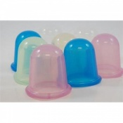 Silicone Cupping Set for Facial Rejuvenation, Cellulite and Massage