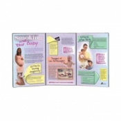 Smoking and Your Baby Folding Display Tobacco Educational Aid