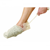 Sock and Stocking Aid with Comfy Foam Handles