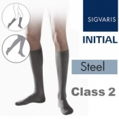 Sigvaris Initial Men's Calf Class 2 Steel Compression Stockings