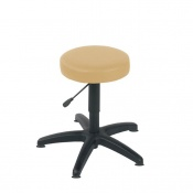 Sunflower Medical Beige Gas-Lift Stool with Glides