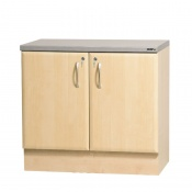 Sunflower Medical 100cm Base Cabinet in Maple