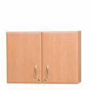 Sunflower Medical 100cm Wall Cabinet in Beech