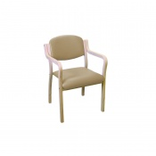 Sunflower Medical Beige Intervene Aurora Visitor Chair with Extended Arms