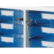 Locking Doors for Sunflower Medical Vista 100 Storage Trolleys
