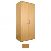 Sunflower Medical Beech Double Wardrobe