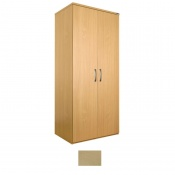 Sunflower Medical Maple Double Wardrobe