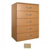Sunflower Medical Maple Five-Drawer Chest
