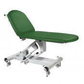 Sunflower Medical Fusion Classic Green Two-Section Hydraulic Couch