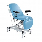 Sunflower Medical Cool Blue Fusion Electric Height Phlebotomy Chair