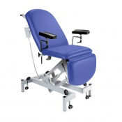 Sunflower Medical Mid Blue Fusion Electric Height Phlebotomy Chair
