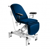 Sunflower Medical Navy Fusion Electric Height Phlebotomy Chair