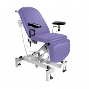Sunflower Medical Lilac Fusion Electric Height Phlebotomy Chair with Electric Back and Foot Sections